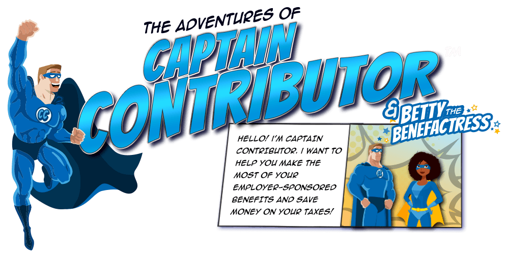 Captain Contributor and Betty the Benefactress